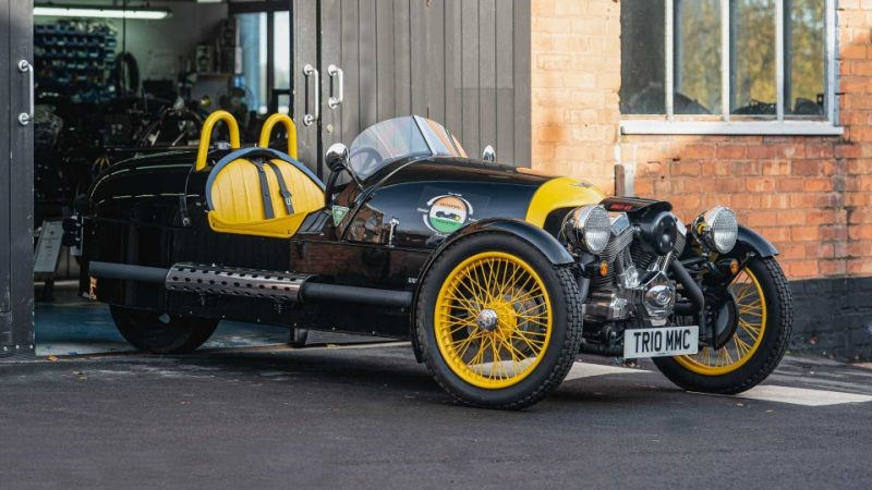 Morgan Three Wheeler Trans-India Challenge