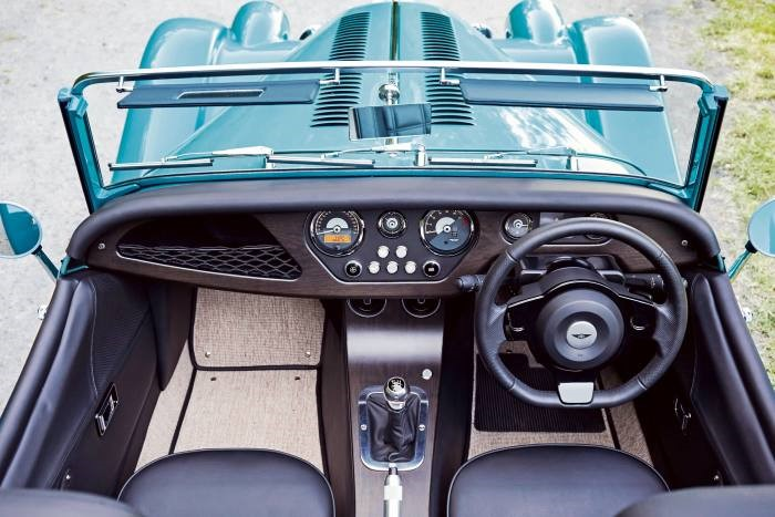 Morgan Plus Four: From £62,995 (manual) or£64,995 (automatic)